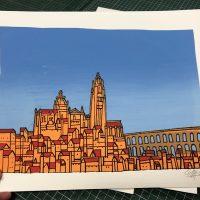 Serigrafía Segovia 2020