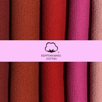 100% egiptian cotton scarf red and pink.