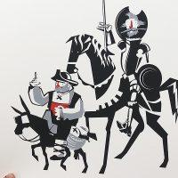 Serigrafía Quijote / Diego Etcheverry.