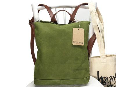 Mochila básica / 8987 Verde.