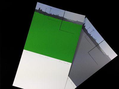 Serigrafía Segovia Verde.